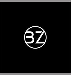 B z joint letter logo abstract design vector