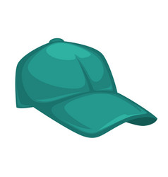 baseball cap stylish accessory for women outfit vector image