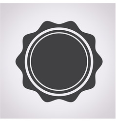 blank stamp icon vector image