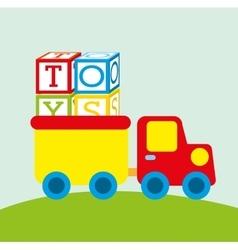 Children toys vector