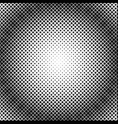 Halftone square pattern background template vector