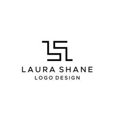 Ls logo vector