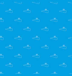 pool pattern seamless blue vector image
