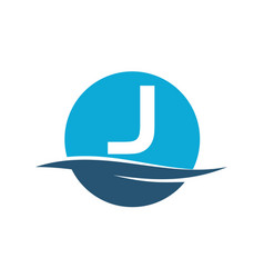 Wave water initial j vector