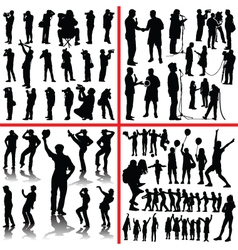 people mix vector image vector image