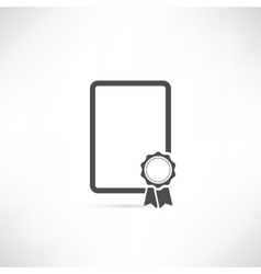 Empty Badge Icon vector image vector image