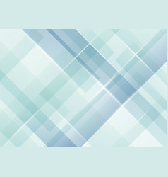 abstract light blue stripes diagonal overlapping vector image