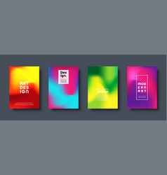 Colorful modern abstract background with neon red vector