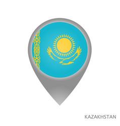 kazakhstan point vector image