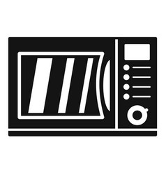 keypad microwave icon simple style vector image