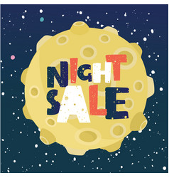 Moon for sale vector