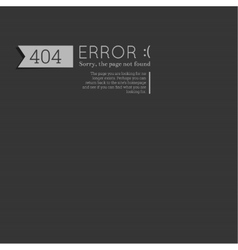 Oops 404 error sorry page not found vector