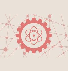 Pictograph atom vector