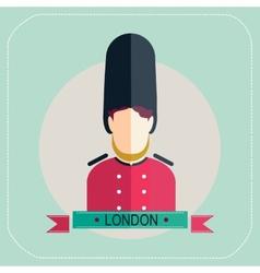 Royal Guard icon vector