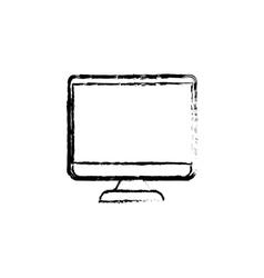 Modern tv media vector image vector image