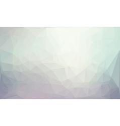 Polygonal gray background vector image