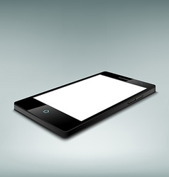 Black smartphone Stock vector image