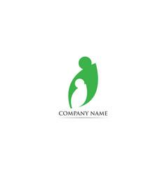 Adoption logo and symbol vector