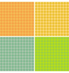 Diamond pattern background collection vector