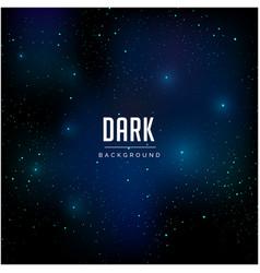 Night sky and star pattern dark background vector