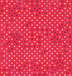 Red dots texture with grunge effect vector