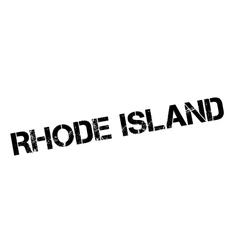 Rhode Island rubber stamp vector