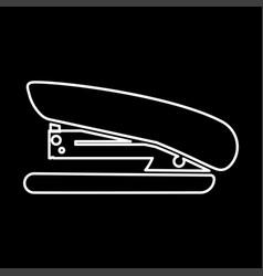 Stapler it is icon vector