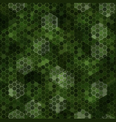 Texture military tan green colors forest vector