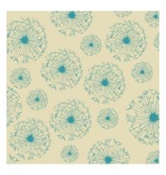dandelion texture vector image