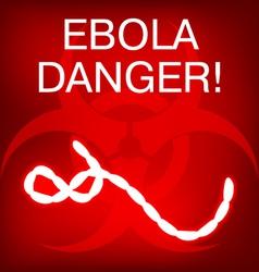 Ebola vector image