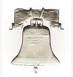 Liberty bell vector