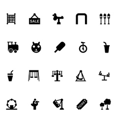 Amusement Park Icons 5 vector