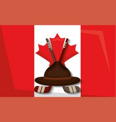 Canada country symbols vector