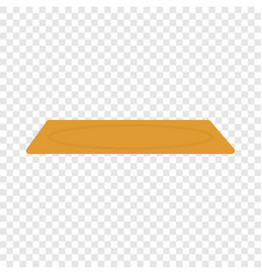 Home carpet icon flat style vector