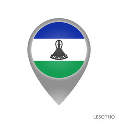 Lesotho point vector