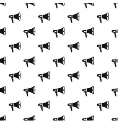 Megaphone pattern vector