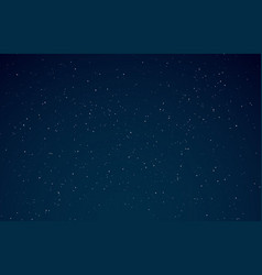 night sky starry galaxy night universe vector image