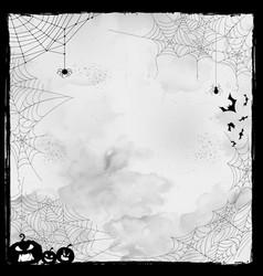 happy halloween holiday night celebration vector image vector image