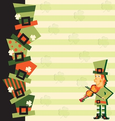 st patrick s day party vector image vector image