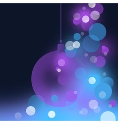 abstract christmas vector image vector image