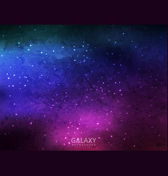 Abstract colorful salaxy background design vector