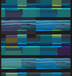 Bright horizontal lines forming rectangles vector