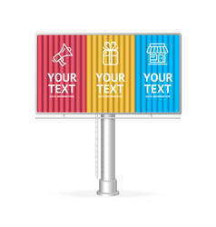 Concept business infographic option banner card vector