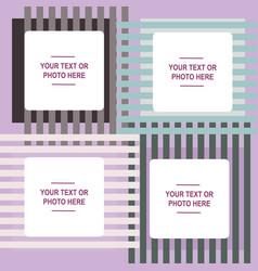 Design photo frame vector