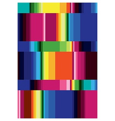 geometric pattern multicolored vector image
