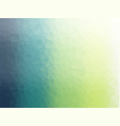 Softly green triangular geometric background vector