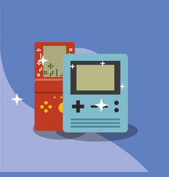 Video game classic vector