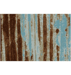 Background Rusty Galvanized iron plate vector image vector image
