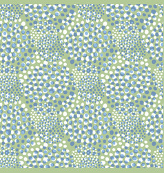 green seamless pattern spring repeating vector image
