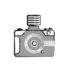 photographic camera shutter vector image